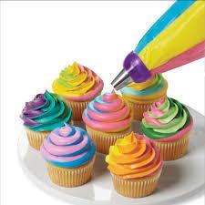 Kitchen Color Design Tool Aliexpress Com Buy New Design Cake Nozzle 3 Color Coupler Cake