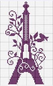 free eiffel tower cross stitch pattern britex fabrics britex