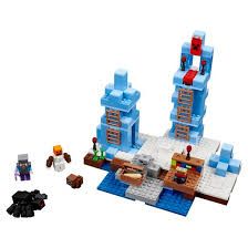 lego minecraft the ice spikes 21131 target