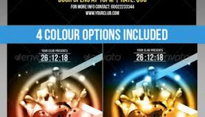 graphicriver club party flyer template 6333254 heroturko download