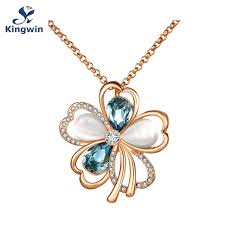fine gold necklace images Buy italy designer fine gold color pendant long jpg