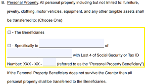 free revocable living trust forms word pdf eforms u2013 free