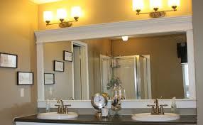 diy bathroom mirror frame bathroom mirror frames ideas design