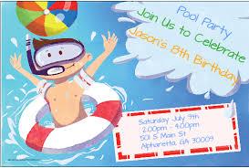 splash party invitations adiv info