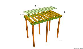 Build A Trellis How To Build A Grape Arbor Unac Co