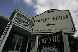 Whaley House Other House Museum Vandalized The San Diego Union