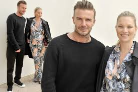 moss and kate moss and david beckham are pairing as they attend