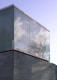 glass cube house plans with strong wall foundation fantastic