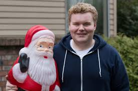 Bad Santa Meme - what does the kid brett kelly from bad santa look like now