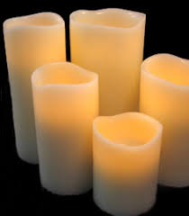 flameless candles battery candles pillar battery operated candles