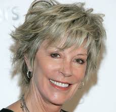 short hair on older women hair style and color for woman