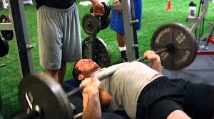 Ideal Bench Press Weight Brian Mcnally Nfl Combine 225 Bench Press Test Youtube