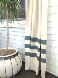 Blue And White Vertical Striped Curtains Gold And White Curtains Trellis Curtains View Full Size 1 3 Ct