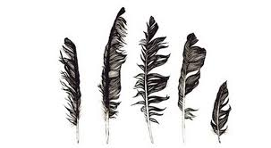 5 feathers tattoo design tattoos book 65 000 tattoos designs