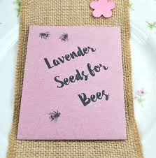 wedding seed packets personalised recycled wedding seed packet favours