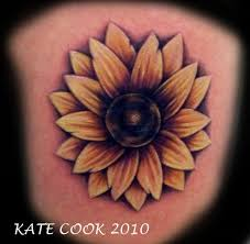 black and white sunflower tattoos in 2017 real photo pictures