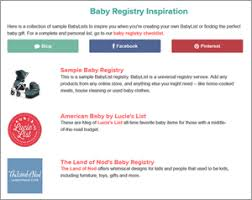 baby registrys babyli st create and baby registries the allmyfaves