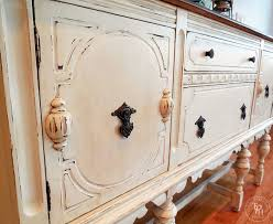 Buffet Around Me by Sideboard Buffet Hutch Chalk Paint Makeover