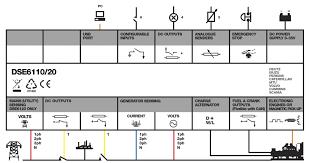 dse6120 auto mains utility failure control modules dsegenset