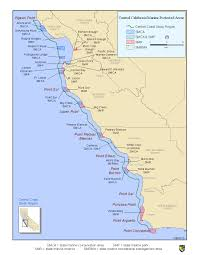 Point Lobos State Reserve Map by Marine Protection Mpas Around Monterey Bay Bay To Beach Life