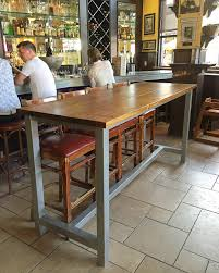 metal bar height table fantastic bar height metal table legs l35 in simple home design