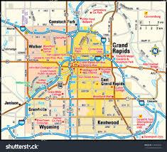 Map Of Michigan by Map Of Michigan Grand Rapids Michigan Map