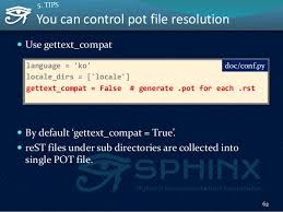 html themes sphinx easy contributable internationalization process with sphinx pycon a