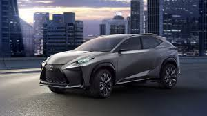 lexus silver 2017 silver crossover lexus lf nx on a city background wallpapers and