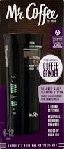 Mr Coffee Burr Mill Grinder Review Mr Coffee Precision Coffee Grinder With Chamber Maid Cleaning