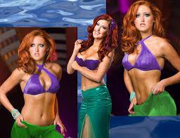 disney princess wrestler ariel mermaid
