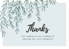 thank you card for wedding gift thank you message wording for cards