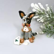 santa s pals australian shepherd ornament