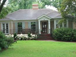 Glass Front House I Have Red Brick So Black Shutters U0026 Wood Glass Front Door White