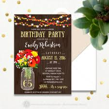 surprise birthday invitations printable 65th birthday