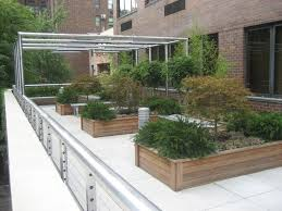 Rooftop Deck House Plans Exterior Beautify Rooftop Terrace Garden Design With Wooden