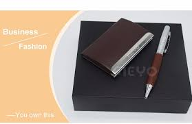 corporate gift card premium corporate gift card holder with pen executive gift ideas