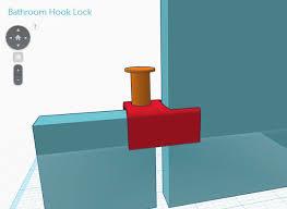 how to instantly fix a broken public restroom stall door with 3d