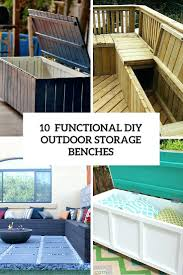 Diy Outdoor Storage Bench Plans by 10 Smart Diy Outdoor Storage Benchespool Deck Bench Plans Pool