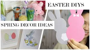 Easter Home Decor by Easy Spring Home Decor Diys Easter Party Ideas Youtube
