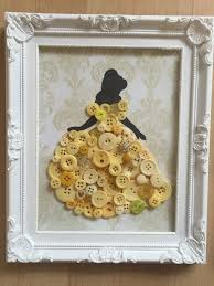 hand made framed art perfect for a girls bedroom or childs nursery