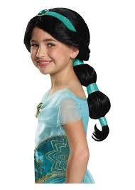jasmine halloween costume for kids princess jasmine disney girls wig kids costumes kids halloween