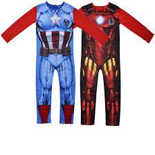 party america halloween costumes kids avengers superhero onesie boys party america iron man