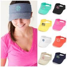 monogrammed hats floppy caps giftshappenhere
