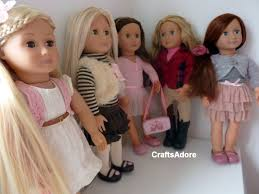 cute hairstyles for our generation dolls all our generation dolls youtube