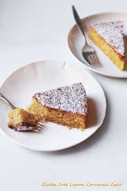 gluten free lemon cornmeal cake this mama cooks on a diet