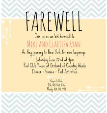 invitation cards for farewell party infoinvitation co