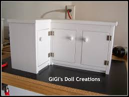 18 inch doll kitchen furniture gigi s doll and craft creations doll kitchen and