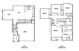 100 4 bedroom 2 story house floor plans best 25 home floor