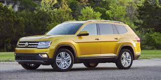 volkswagen suv 3 rows vw atlas at last a german take on the american family suv