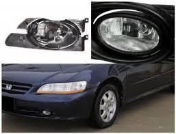 honda accord sedan 2001 2002 clear fog lights kit a1246uc3103